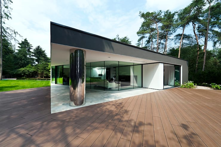 Villa Veth:  Terras door 123DV Moderne Villa's
