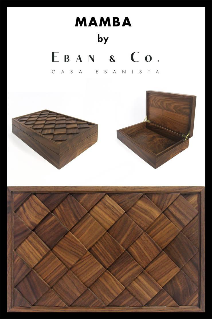 MAMBA: Hogar de estilo  por Eban & Co.