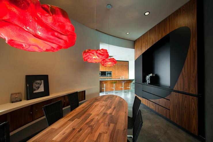 Comedores de estilo  por 123DV Moderne Villa's, Moderno