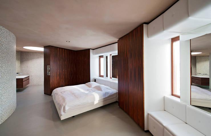 Cuartos de estilo  por 123DV Moderne Villa's, Moderno