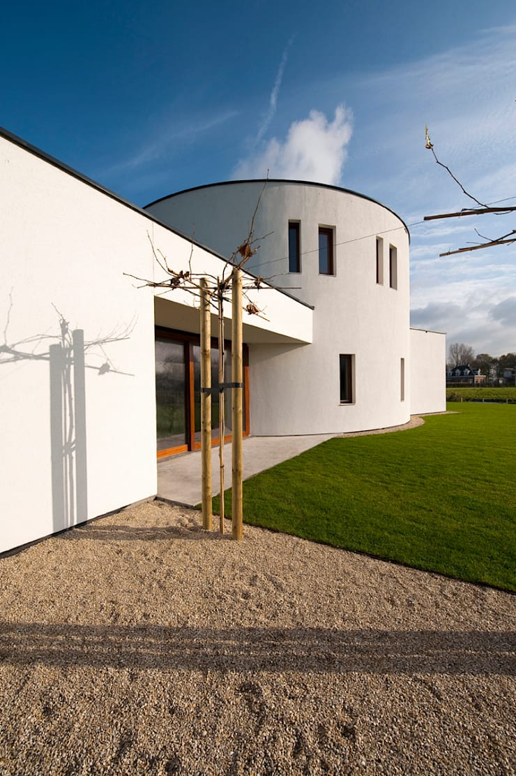 Casas de estilo  por 123DV Moderne Villa's, Moderno