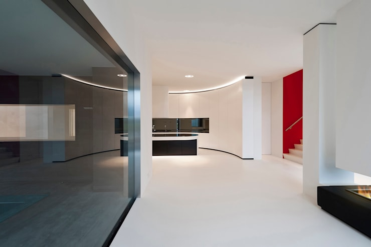 East West Villa:  Muren door 123DV Moderne Villa's, Modern