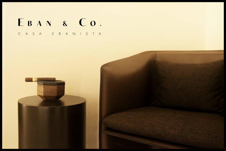 CENICERO LAVA: Hogar de estilo  por Eban & Co.