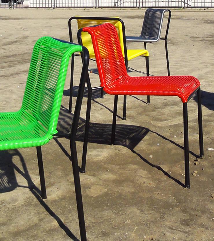 Silla Andy Cordón:  de estilo  por Kotta Design Furniture,Moderno