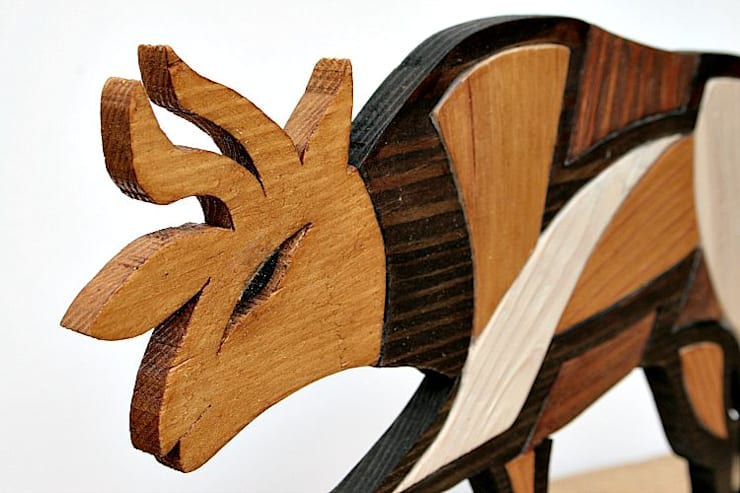 Forgotten – Byk z Cypru: styl , w kategorii Salon zaprojektowany przez hello Re