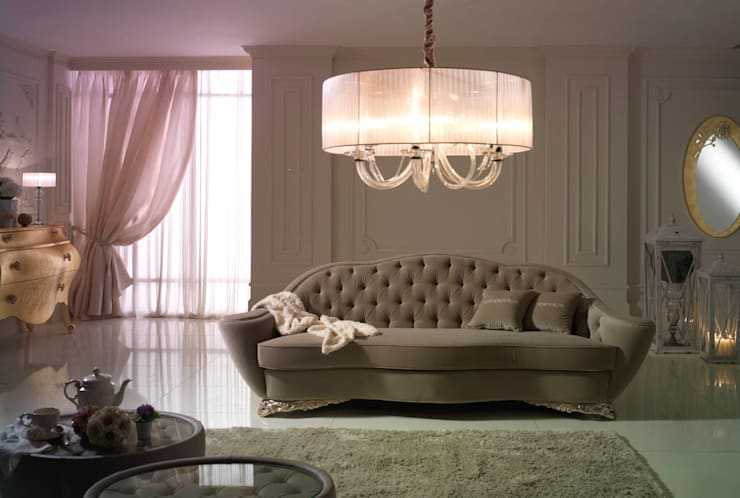 Collection Sofà: Ingresso, Corridoio & Scale in stile  di Piermaria,