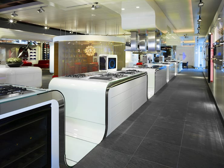 Miele inspirience Center - Vianen:  Winkelruimten door M+R interior architecture