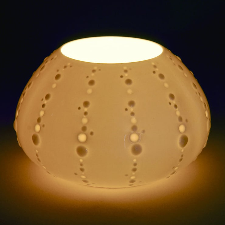 Urchin Tealight Holder :  Artwork by Bromley & Bromley