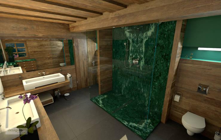 Das Landhaus Badezimmer:  Badezimmer von Art of Bath,