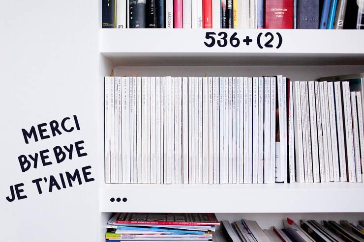 Gommettes Alphabet: Murs & Sols de style  par OMY