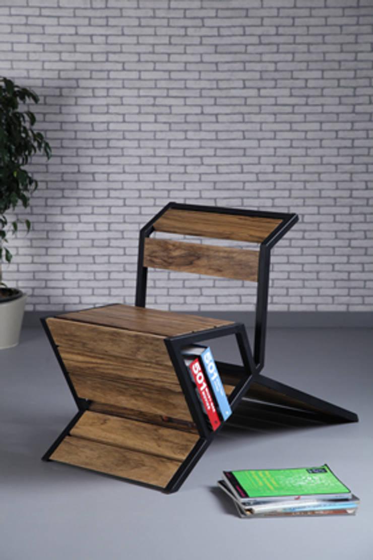 Chaise MODU: Salon de style  par JOSE PASCAL