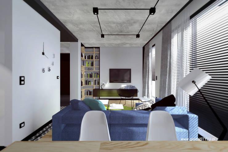 projekt wnętrz ZABRZE: styl , w kategorii  zaprojektowany przez głodni STYLU pracownia projektowa