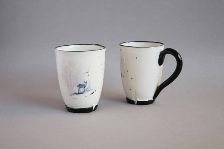 Mug Biche Eolienne: Art de style  par Nadège Richard