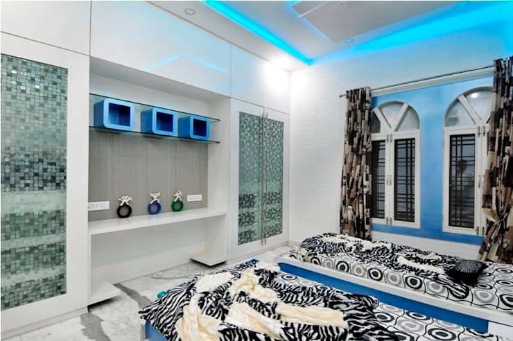 kids bedroom: modern Bedroom by artha interiors private limited