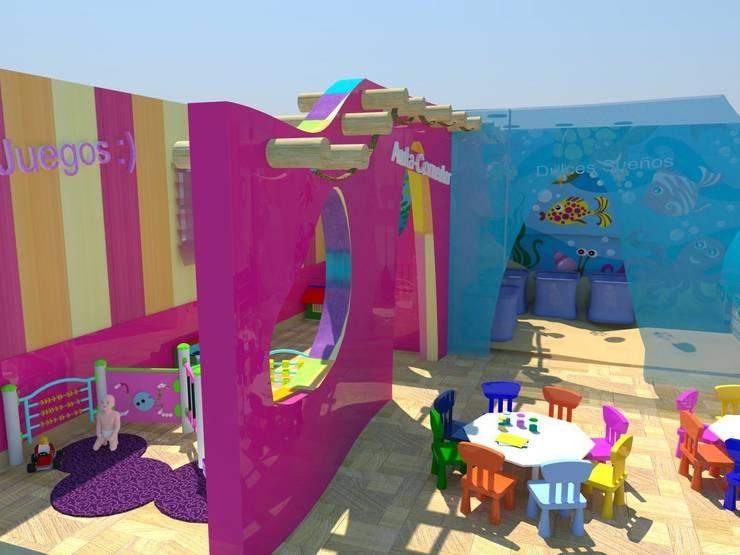Proyecto Guardería Efímera: Habitaciones infantiles de estilo  de Goverd_InteriorDesign