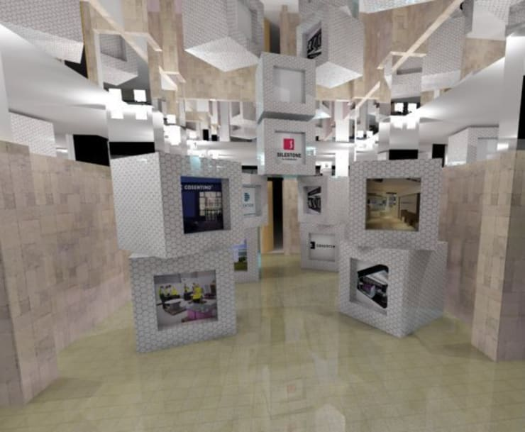 Proyecto Instalación artística:  de estilo  de Goverd_InteriorDesign