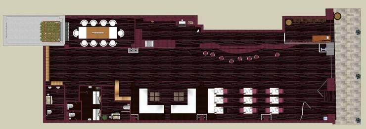 Enoteca:  de estilo  de Goverd_InteriorDesign