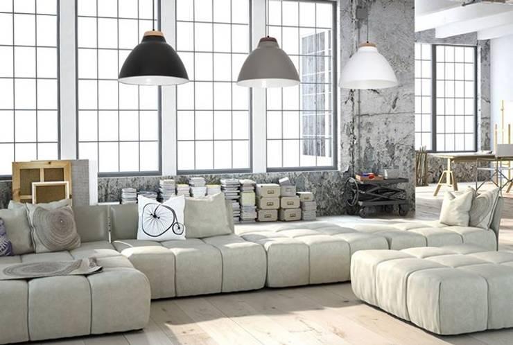 Oświetlenie Loftu: styl , w kategorii  zaprojektowany przez Ekotechnik24.pl - lampy na indywidualne zamówienie