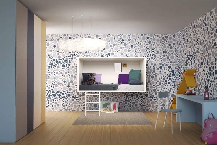 Projekty,  Pokój dziecięcy zaprojektowane przez Jennifer Rieker - Produktdesign
