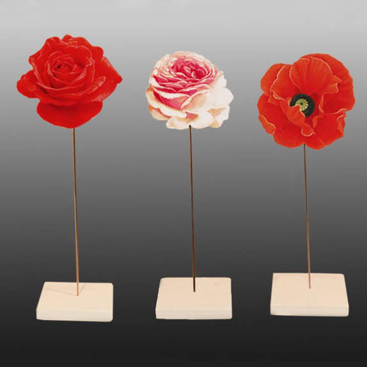 Fleurs sur tige : Art de style  par Rondeur des Jours