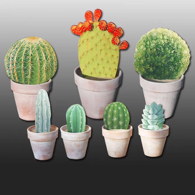 cactus et buis: Art de style  par Rondeur des Jours