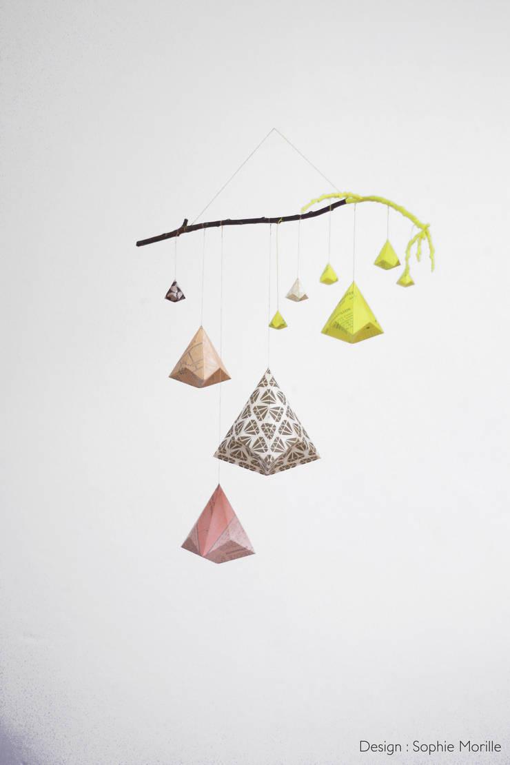 """<q class=""""-first""""> Objets à rêves</q> en origami: Art de style  par Sophie Morille Designer Textile"""