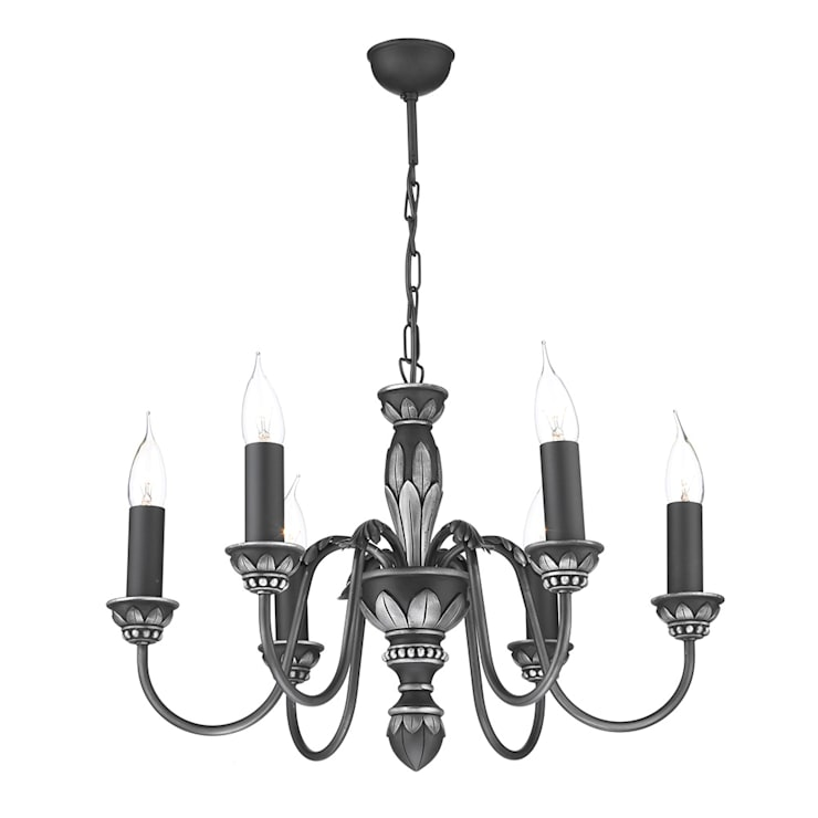 Pewter Ceiling Lights:  Interior landscaping by Socket Store