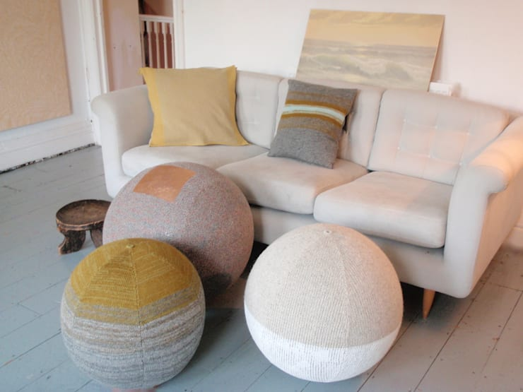 Seating sphere collection:  Living room by Mary Goodman