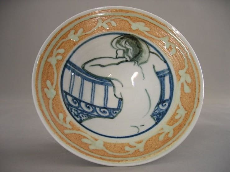 coupe en porcelaine dessinée: Maison de style  par Poterie Lilou Milcent Gallot
