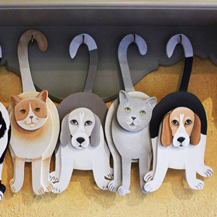 Chats et chiens à suspendre: Art de style  par Rondeur des Jours