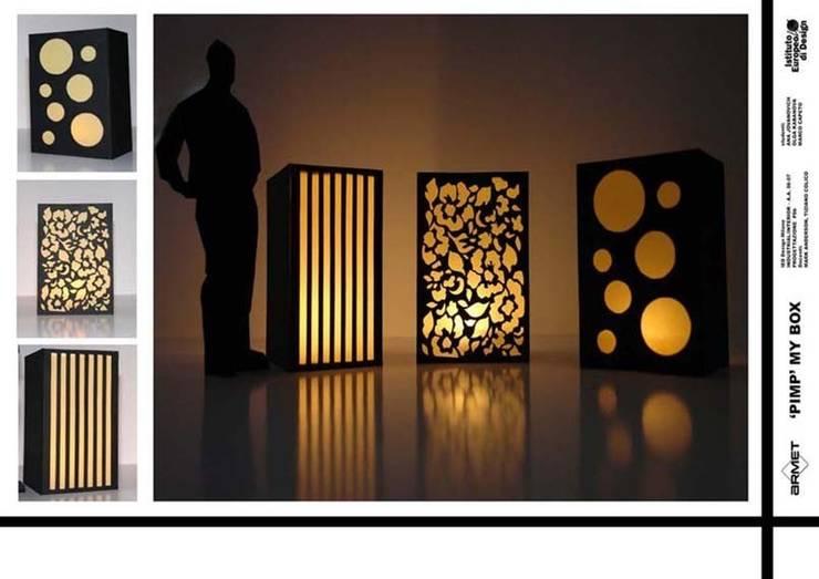 """PimpmyBox"" per Armet: Casa in stile  di marcocapetodesign"
