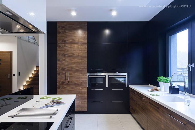 projekt i realizacja wnętrz, CZĘSTOCHOWA: styl , w kategorii Kuchnia zaprojektowany przez głodni STYLU pracownia projektowa