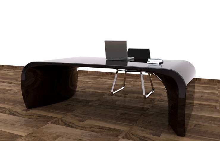 moderne Studeerkamer/kantoor door Studio Ferrante Design