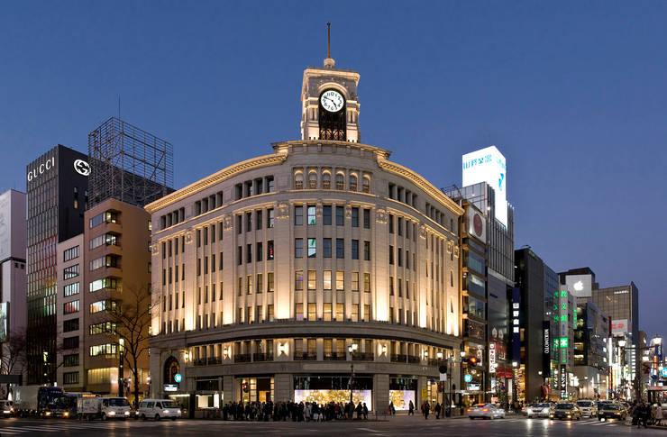 Ginza Wako: WORKTECHT CORPORATIONが手掛けた商業空間です。