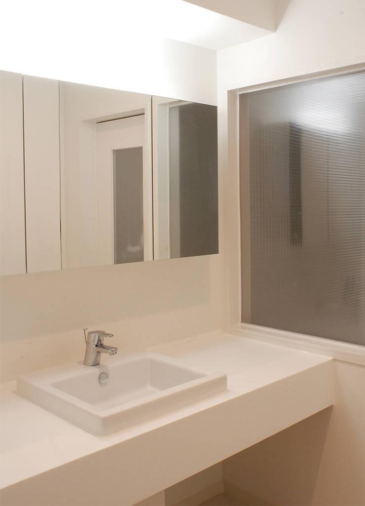 Washroom; : CRAFTONEが手掛けた浴室です。