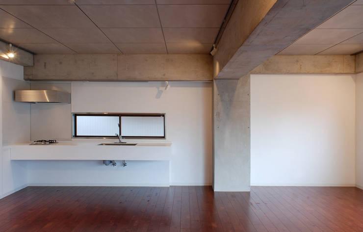 LDK: CRAFTONEが手掛けたキッチンです。