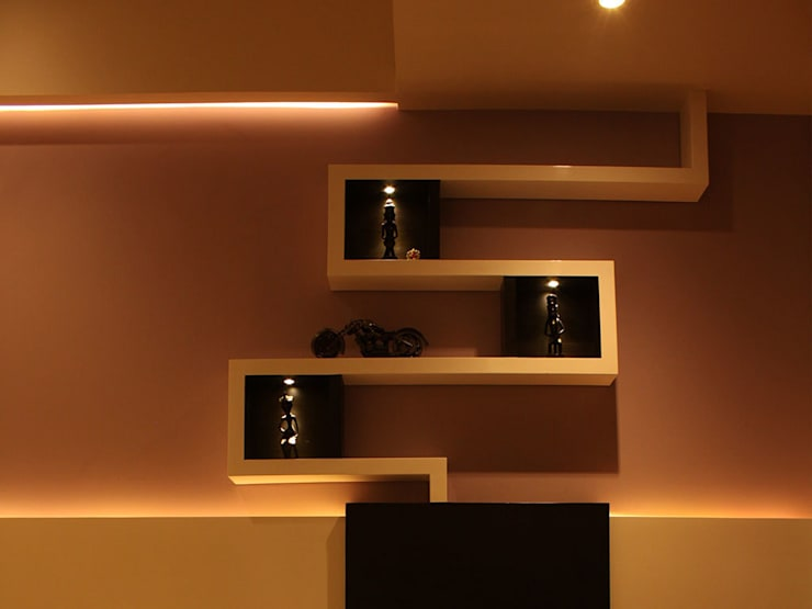 Colourful Abode in Kandivali:   by S K Designs
