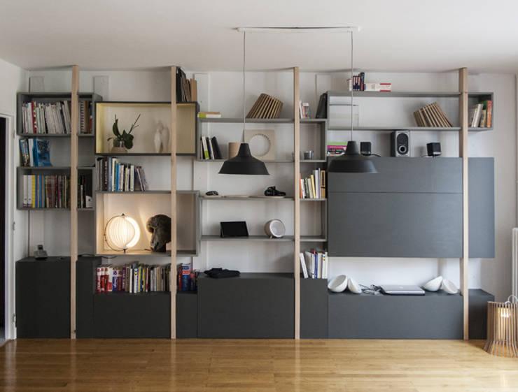 Étalage: Salon de style  par Lucile Schrenzel