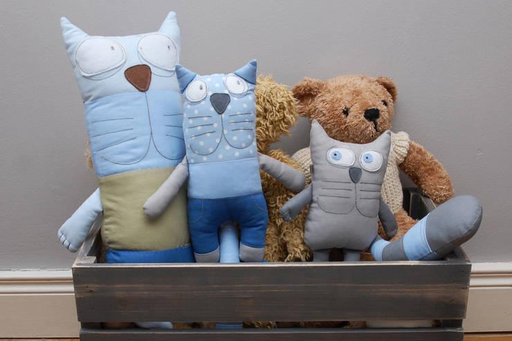 Kot Paddy i przyjaciele: styl , w kategorii Pokój dziecięcy zaprojektowany przez Simpapa