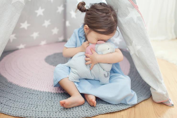 Słonik Rosie : styl , w kategorii Pokój dziecięcy zaprojektowany przez Simpapa,