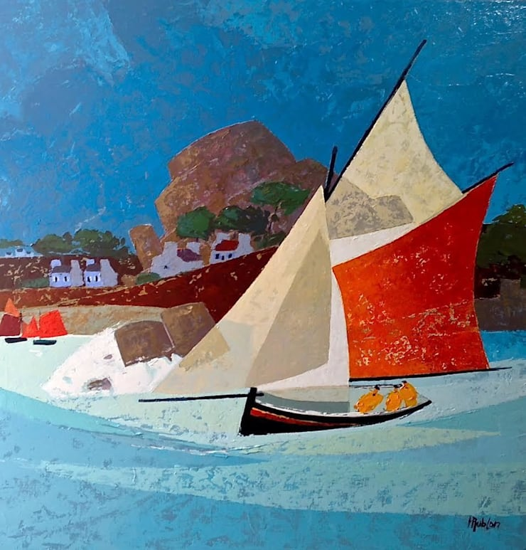 Peintures:  de style  par Hubert Rublon - Artiste peintre