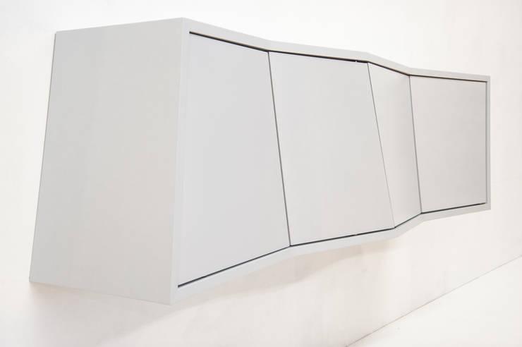 Aberration:  Wohnzimmer von Arne Leucht,