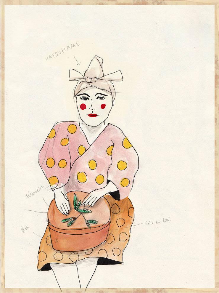 Illustrations: Art de style  par Studio Tokpa
