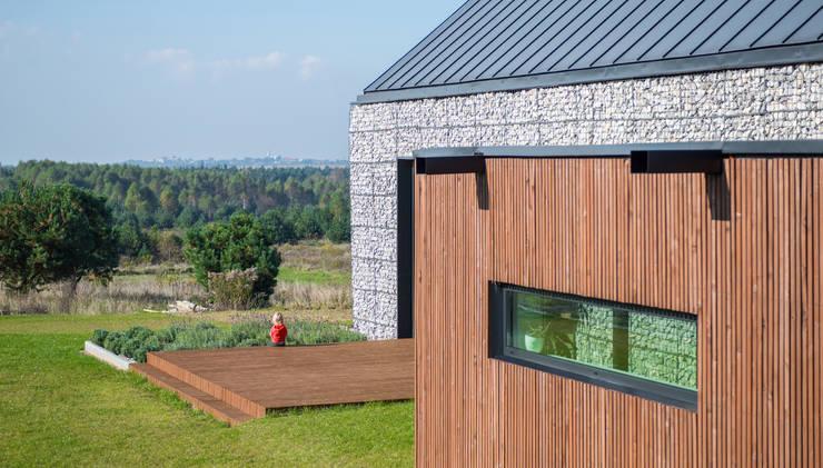 project: styl , w kategorii Domy zaprojektowany przez Kropka Studio