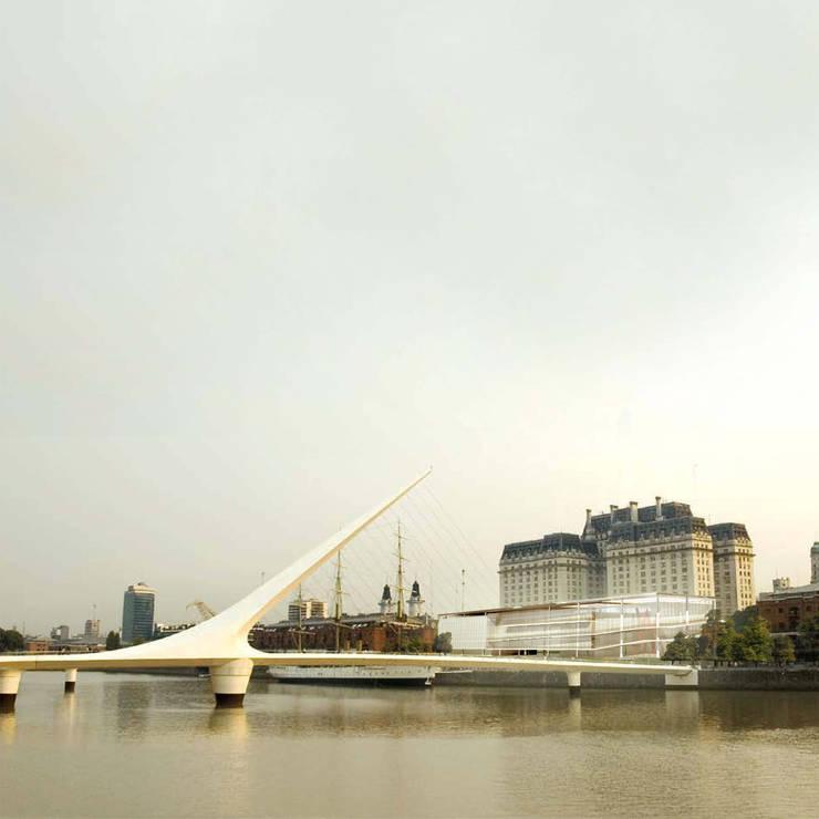 Vista do Rio La Plata:   por Paula Werneck Arquitetura