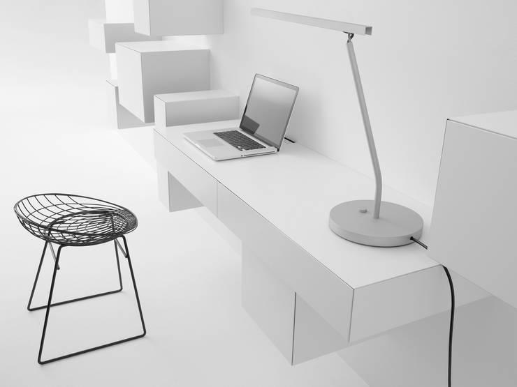 VISION ELEMENTS WORKSTATION B: minimalistische Woonkamer door Pastoe