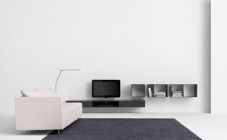 VISION ELEMENTS VE37: minimalistische Woonkamer door Pastoe