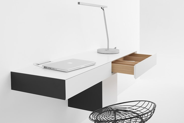 VISION ELEMENTS WORKSTATION landscape: minimalistische Woonkamer door Pastoe
