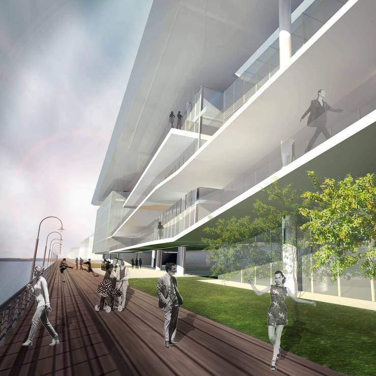 Acesso principal:   por Paula Werneck Arquitetura