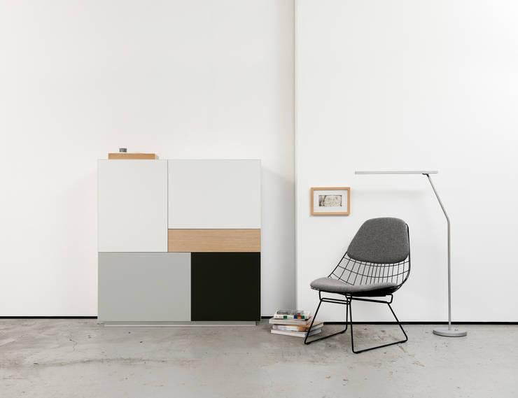 Projekty,  Salon zaprojektowane przez Pastoe